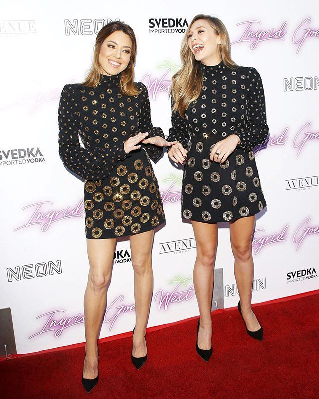 Aubrey Plaza and Elizabeth Olsen landed on ELLE's #bestdressed list for this twin moment in adorable @marcjacobs dresses and @sophiawebster heels. Link in bio for the rest of this week's winners.  via ELLE USA MAGAZINE OFFICIAL INSTAGRAM - Fashion Campaigns  Haute Couture  Advertising  Editorial Photography  Magazine Cover Designs  Supermodels  Runway Models