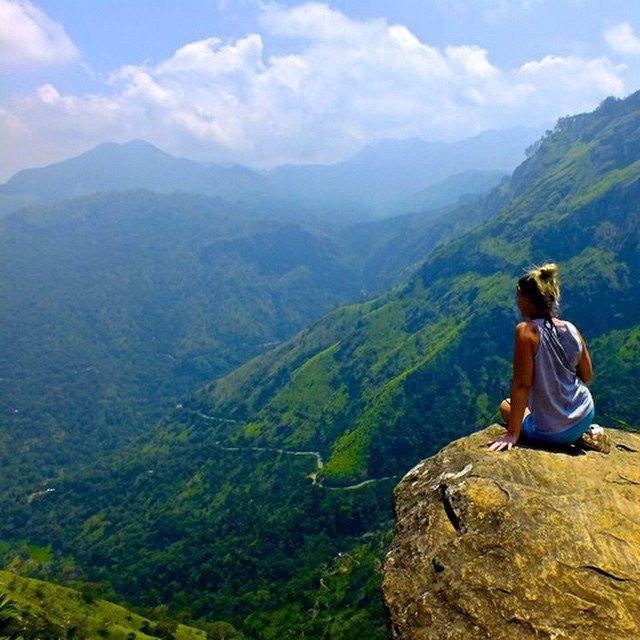 "Little Adams Peak in Ella, Sri Lanka, via ""10 photos that will make you want to visit Sri Lanka"""