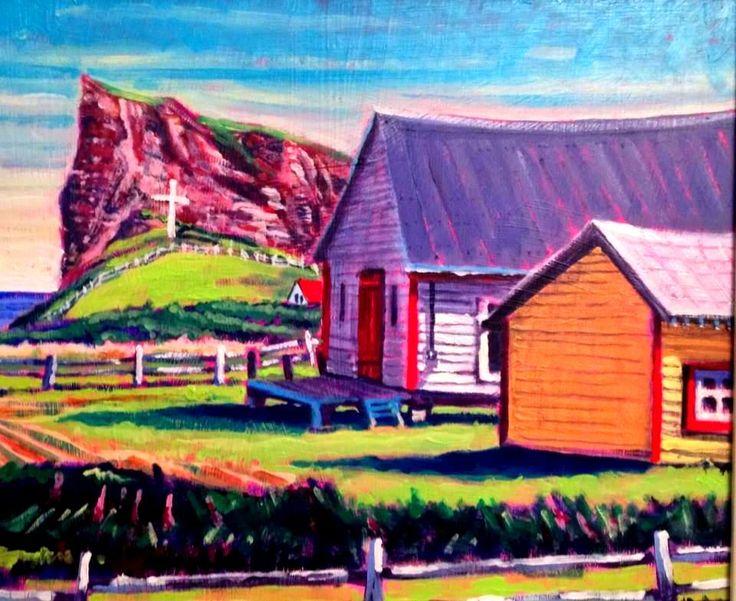 Canadian impressionist landscape painter. andrewhamiltonfineart.com