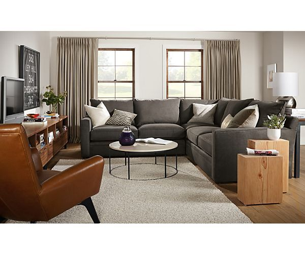 Orson Sectional Room - Living - Room u0026 Board | Contemporary Organic Home | Pinterest | Living rooms Room and Contemporary  sc 1 st  Pinterest : room and board orson sectional - Sectionals, Sofas & Couches