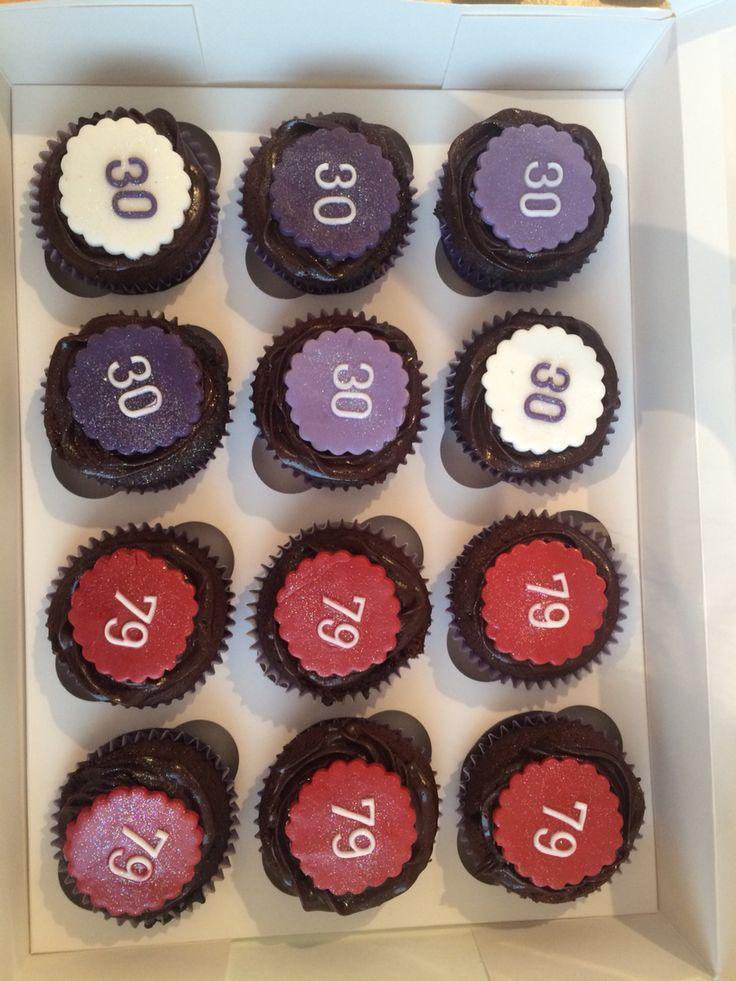 Easy peasy simple choc fudge cupcakes!
