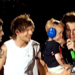 Louis saw his future...and he liked it