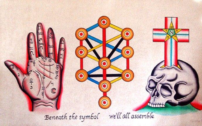 Robert Ryan,symbols, Image via www.tattoonow.com