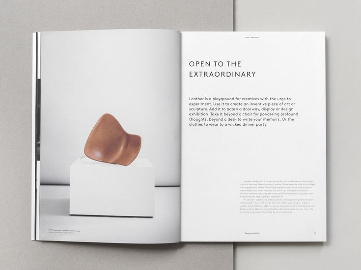 The spirit behind our company, reflecting our openness to new partners, projects & ideas. Page from our Brand Book 2nd Edition designed and photographed by Norm Architects.Text by Julie Ralphs.