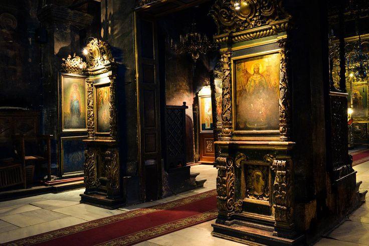 Biserica Golia interior romanian churches jassy Iasi Romania