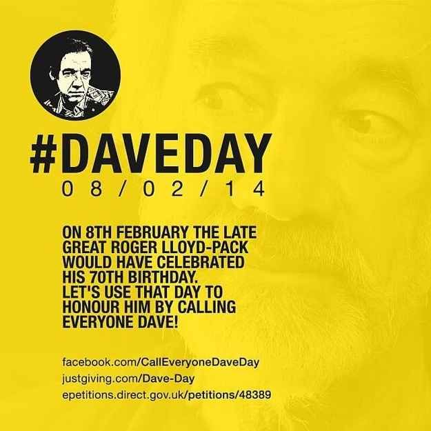 """Here's Why """"Call Everyone Dave Day"""" Should Be A Longstanding British Tradition"""