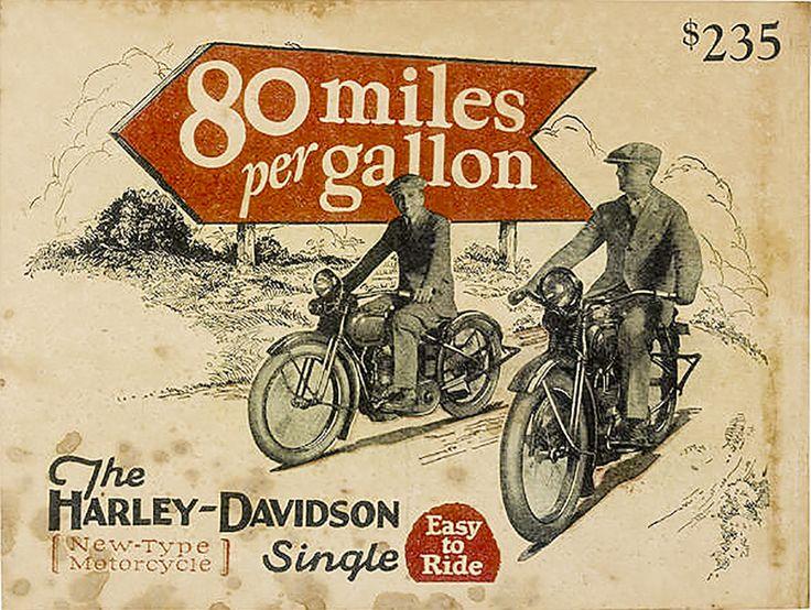 Vintage Harley Ads 29