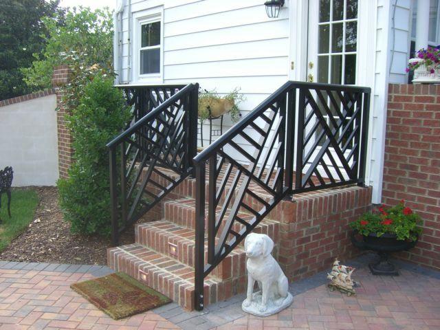 Best Aluminum Vinyl Railing Exterior Stair Railing 400 x 300