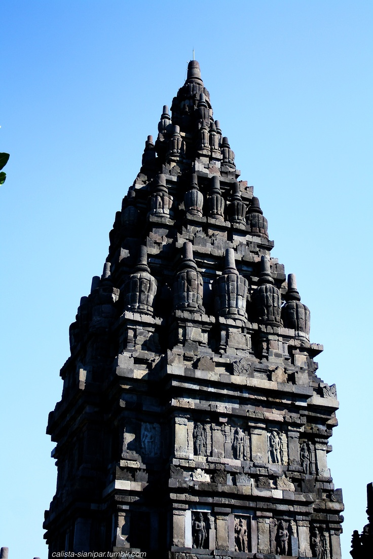 Another gorgeous photo of the Prambanan Temple in West Java