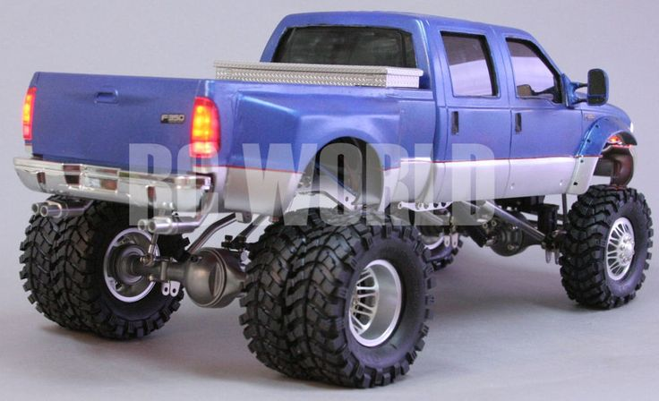 RC 1/10 FORD F-350 DUALLY QUAD CAB Custom Built All Metal Chassis *RTR* NEW  #rcworld