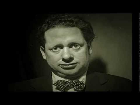 Dylan Thomas reading his poem Fern Hill.