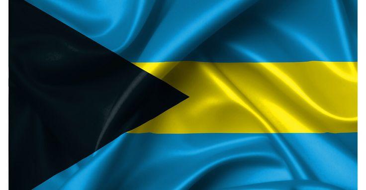 The Bahamas flag