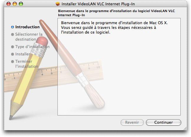 Installation de VLC 1