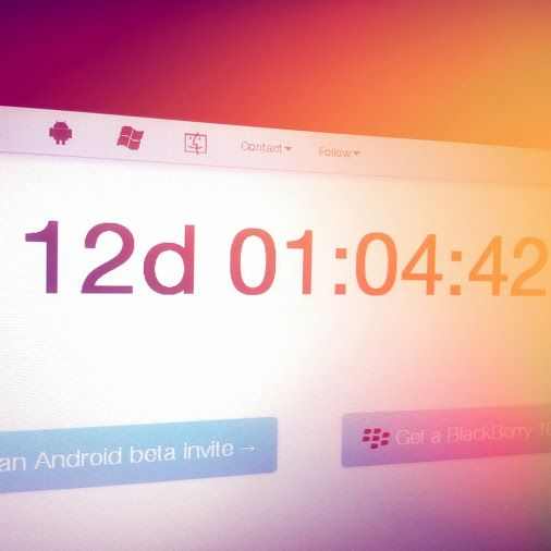 Polarbear got a countdown! http://www.PolarbearApp.com/countdown  #Android #BlackBerry10 #SocialMedia #SocialNetworking #App