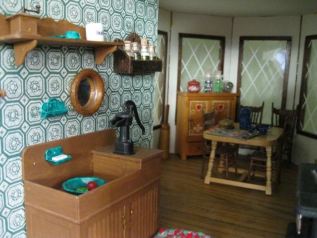 Dollhouse Kitchen by KiwiHugger, via Flickr