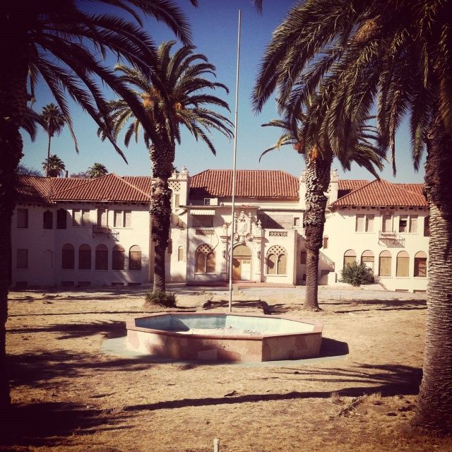 The old Elsinore Naval and Military Academy in California ...