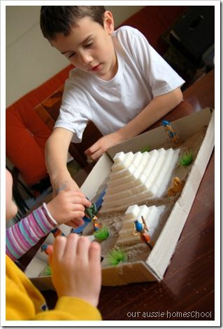 Egypt Sensory Bin ~ Our Aussie Homeschool