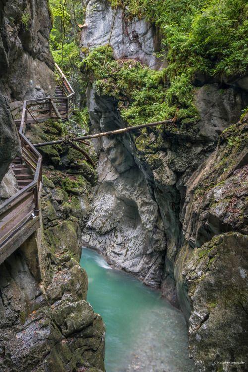Lammerklamm Gorge Salzburg Austria by   Notko...