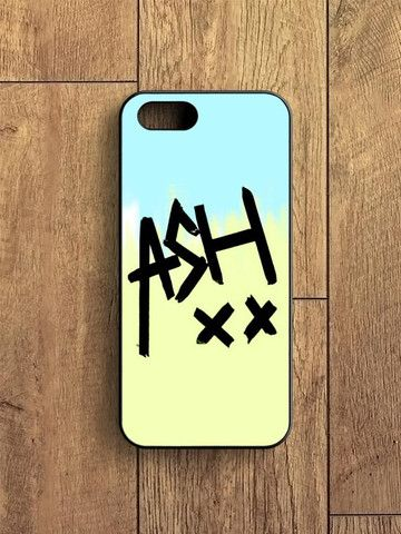 5sos Ashton Irwin Signature Color iPhone 5|S Case