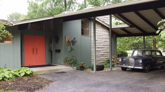 indiana mid century homes | mcm mid century modern house home design architecture