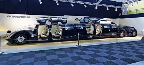 時速300kmで23名を運ぶ電気自動車「スーパーバス」プロジェクト - GIGAZINE