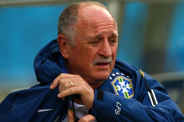 """""""El peor Día de mi vida"""": Brasil jefe Luiz Felipe Scolari Pide del Perdón despues de Que Alemania paliza - Mirror Online"""
