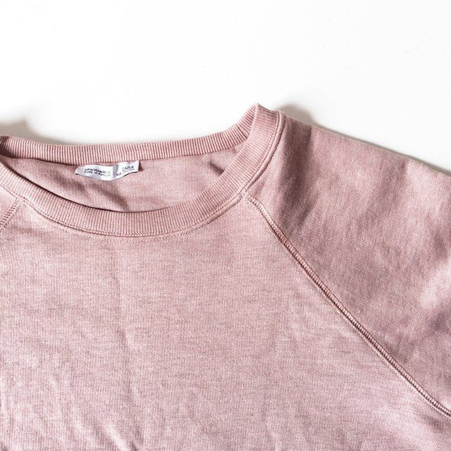 """🐷 Zara Jumper 🐷 Size M   Perfect condition   On trend blush pink colour   Perfect for throwing on over outfits at night or at festivals!   I'm a UK 8 and 5'2"""" for sizing guide   Free UK Postage ✉️   Message me any questions 💁🏻"""