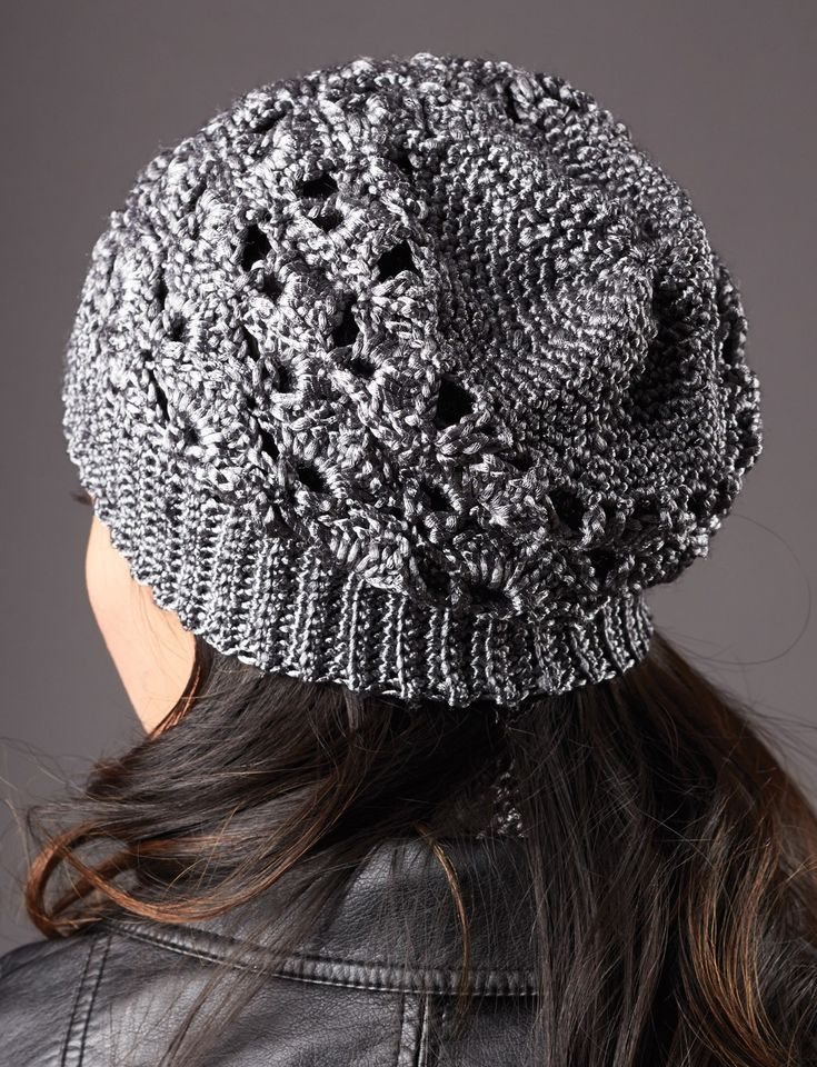 Yarnspirations.com - Patons Silver Screen Hat and Scarf - Patterns  | Yarnspirations