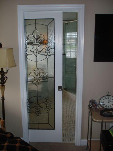 cool pocket door for our bathroom! | my new bath | pinterest