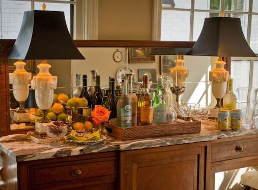 Ideas For A Home Bar Set Up For Parties