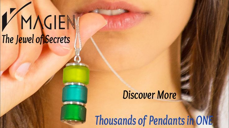 Thousands of Combinations in just ONE PENDANT: Perfume Diffuser, Keeper of Secrets, Essential Oil Diffuser for Aromatherapy.