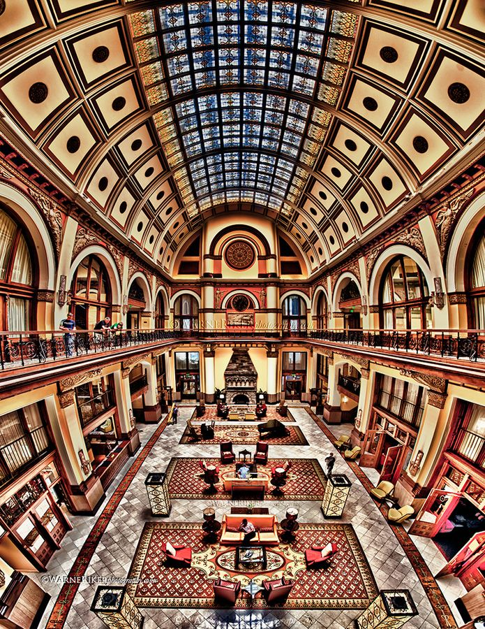 Union Station Hotel, Nashville, Tennessee Passed this beautiful place today! Add it to the list of places I would love to go to!!!!