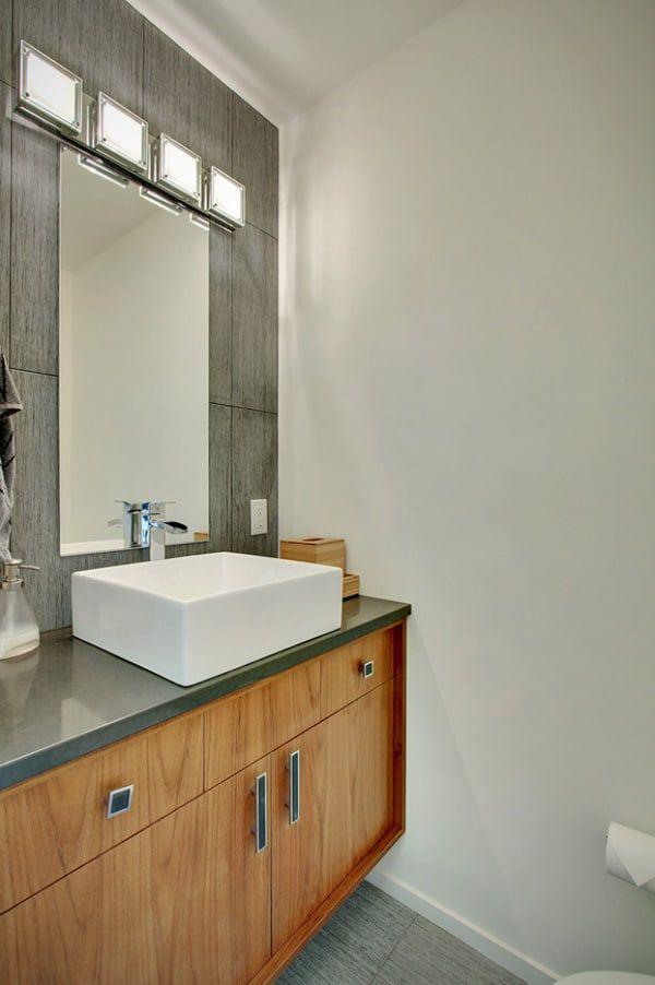 Modern Hillside Home In Seattle Crane Residence Modern Bathroom