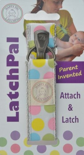 """LatchPal-LatchPal is a nursing clip that secures your shirt during breastfeeding. """"A mom-invented breastfeeding clip that quickly & conveniently secures a mother's top, simplifies nursing in public, and is perfect for hands-free pumping."""""""