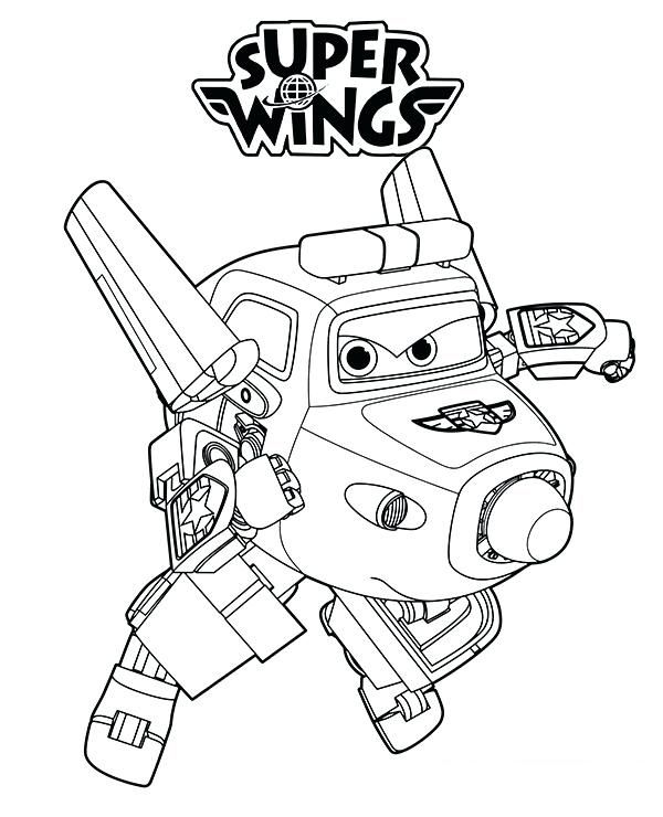 Super Wings Coloring Pages Best Coloring Pages For Kids Coloring Pages For Kids Coloring Pages Airplane Coloring Pages