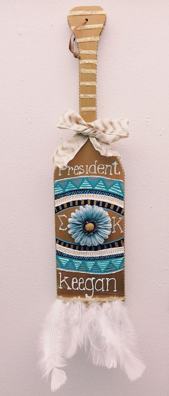 Sigma Kappa Sorority President Paddle! // Sigma Kappa Zeta Zeta: Babson College // Keegan McDonald: President 2014-2015 //