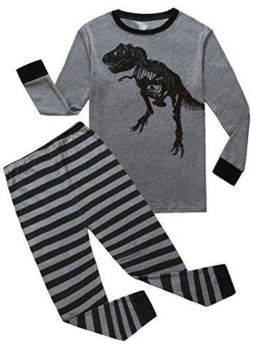 c2979f69b Family Feeling Dinosaur Baby Boys Long Sleeve Pajamas Sets 100 ...