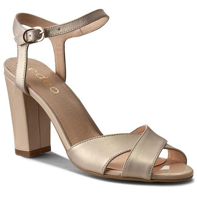 Sandály EDEO - 2218-593/661 Béžová