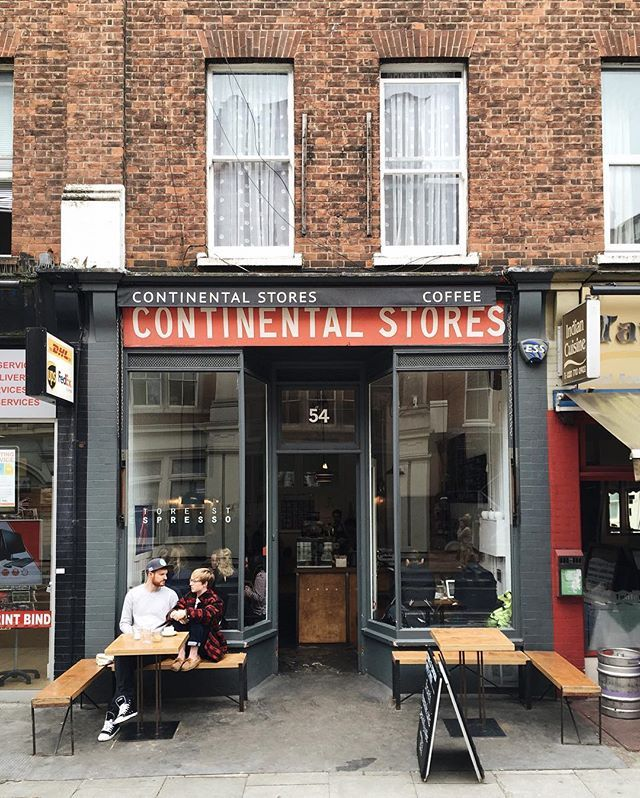 Store Street Espresso, London #cafe #coffeeshop