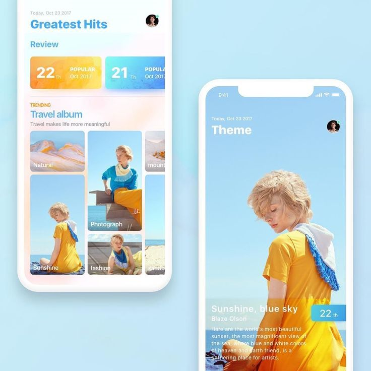 Travel album sharing application. Design by @maoamir and its just great. What do you love about it? . . . . Tag @ui.inspirations in your UI designs or use #uiinspirations if you want us to feature your work! . . . . #userinterface #graphicdesign #webdesign #designinspiration #digitaldesign #ui #ux #uidesign #appdesign #dailyinspiration #graphicdesignui #uitrends #interface #design #uiux #webdesigner #designlove #dailyui #productdesign #creative #mobileui #uxdesigner #uidesigner #dribbble…