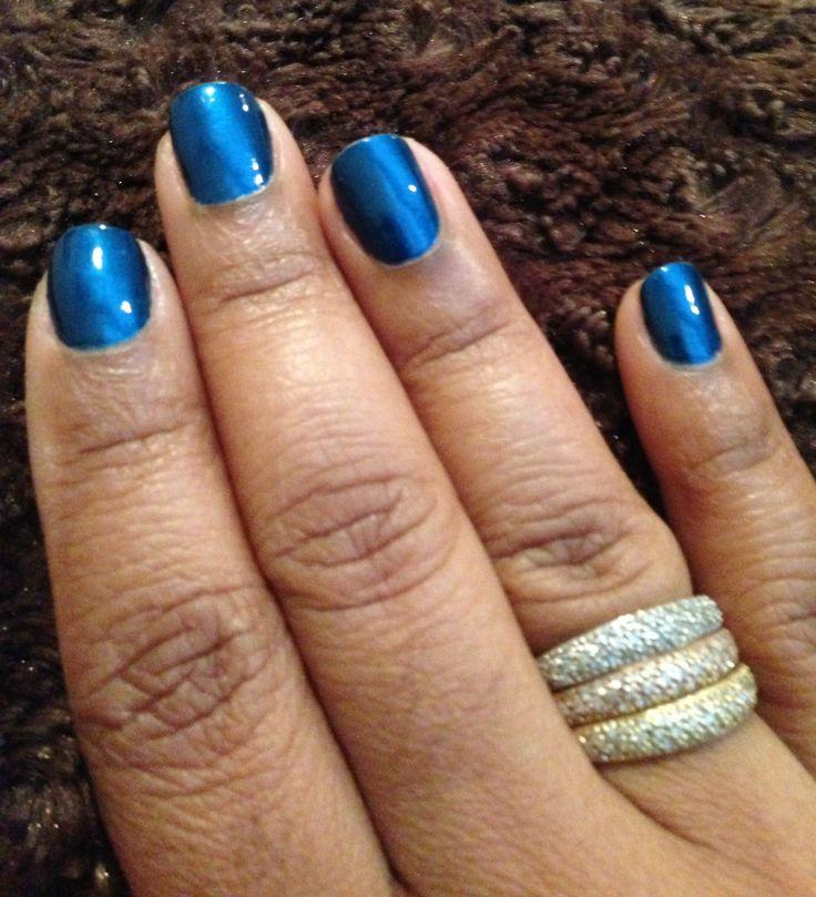 OPI Unforgettable Blue