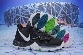 93f18cdbfa1341 Nike Kyrie 5 Black Magic Multi AO2918-901 Men s Basketball Shoes Irving  Sneakers