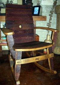 ... wine barrels wine time the porch wine tasting table and chairs rocking
