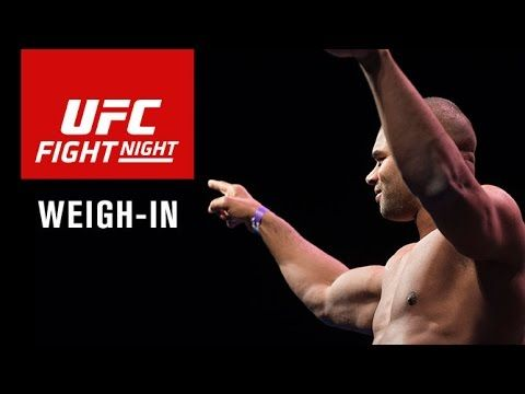 UFC Fight Night 87 Weigh-In Video & Results - http://www.lowkickmma.com/UFC/ufc-fight-night-87-weigh-in-video-results/