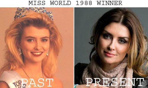 Linda Petursdottir won Miss World 1988