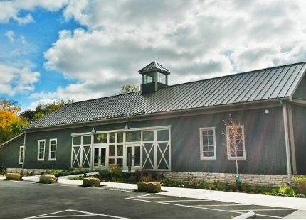The Wells Barn, the newest wedding venue at Franklin Park Conservatory and Botanical Gardens in Columbus, Ohio