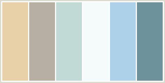 Potential bedroom color scheme