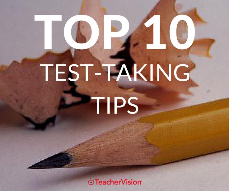 Help students perform at their best during testing week with these tips. https://www.teachervision.com/study-skills-and-test-prep/top-10-test-taking-tips-students #testingweek