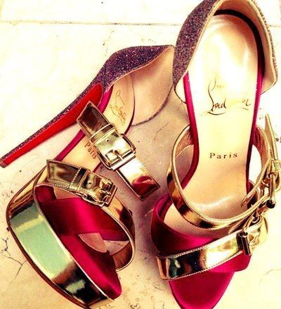 Christian Louboutin glam heels