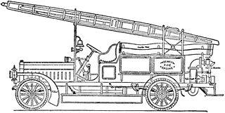Dennis Six Cylinder Fire Engine with Centrifugal Pump